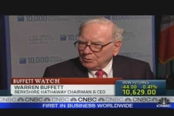 Buffett on Recession
