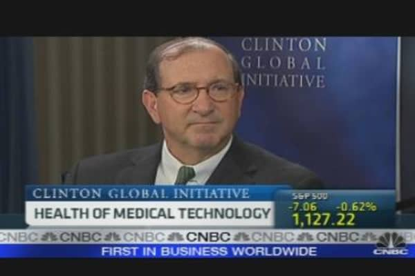 Medtronic CEO on Health of Medical Technology