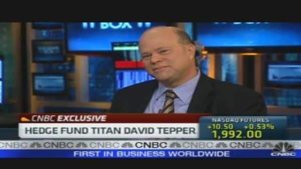 Hedge Fund Titan David Tepper