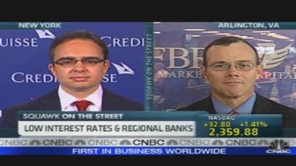Low Interest Rates & Regional Banks