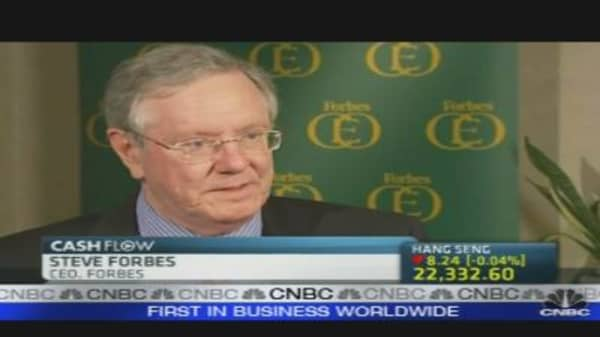 US Must Reduce Tax Rate: Steve Forbes