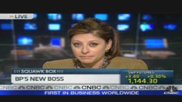 BP's New Boss