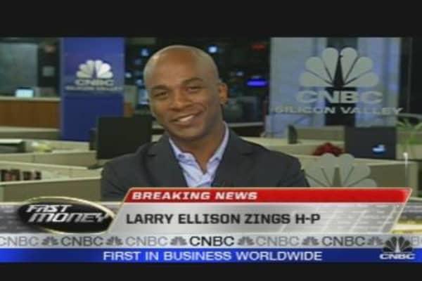 Larry Ellison Zings HP