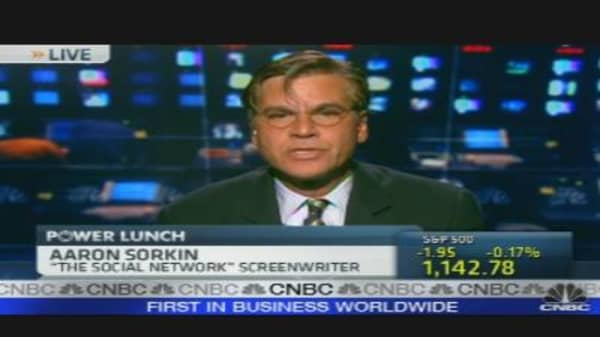 Aaron Sorkin on Writing