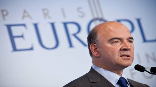 France Finance Minister, Pierre Moscovici