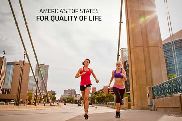 The best places to do business are also the best places to live. At least that's how many states market themselves to the public. CNBC's Top States for Business study found quality of life is among the most frequently mentioned selling points in state economic development campaigns. That's why Quality of Life is one of the most important categories in our study of America's Top States for Business, worth 350 out of 2,500 possible points.Sure, quality of life is in the eye of the beholder. Some p
