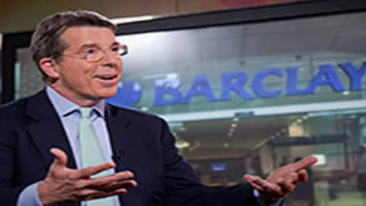 Robert Diamond, CEO of Barclays.