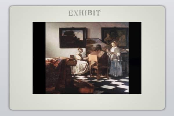 """Vermeer, """"The Concert"""""""