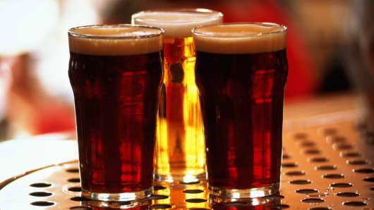 Beer beverage alcolhol