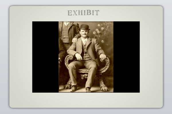 Robert LeRoy Parker (alias Butch Cassidy)