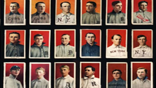 Old Baseball Cards circa 1909-1911
