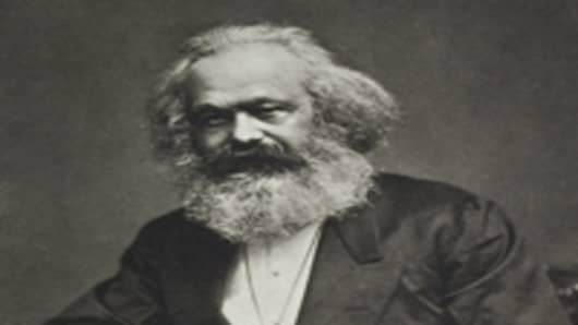 Karl Marx. Around 1880.
