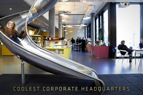 "The term ""corporate headquarters"" often brings to mind an intimidating environment, full of modular furniture, fluorescent lights and joyless gray cubicles. For many years, there were scant deviations to be found.In the 21st century, that rule book has been tossed out the window. The new one has been written by veterans of the tech boom, the start-up boom and the dotcom boom, and this new ""old guard"" has changed the rules.Now that corporate norms no longer apply across the board, nontraditional"