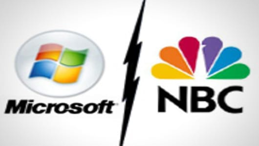 Microsoft splits from NBC