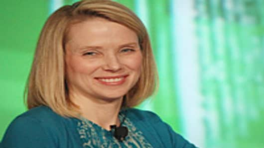 Marissa Mayer named President and CEO of Yahoo.