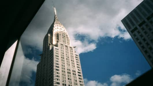 The Chrysler Building is one of the landmarks of the Manhattan skyline. Located on 42nd Street and Lexington Avenue, it's the city's third-tallest building and a towering tribute to both the Chrysler Corporation and the city that it calls home.The Art Deco building has had two foreign owners in the last 11 years. TNW, a German investment group, bought a 75 percent stake in the building for  in 2001. Seven years later, the Abu Dhabi Investment Council bought it, and now owns  of the building.
