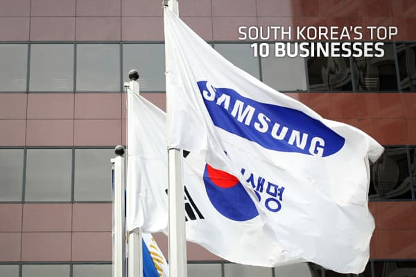 South Korea's 10 Biggest Companies