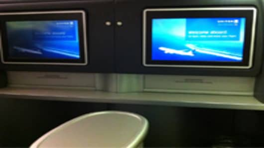 United Airlines Entertainment System