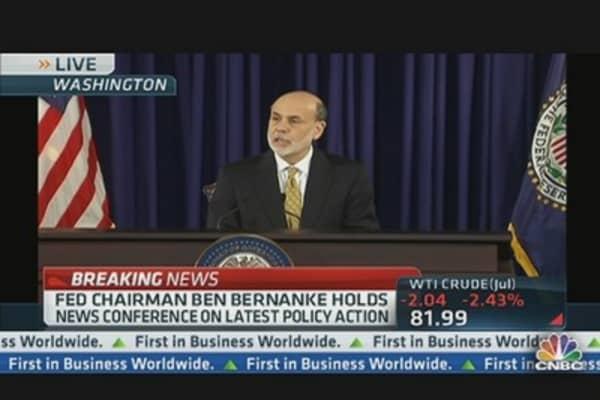 Bernanke: 'Slow Progress' in Employment