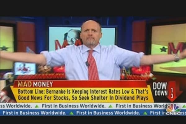 Cramer: Bernanke Can Only Do So Much