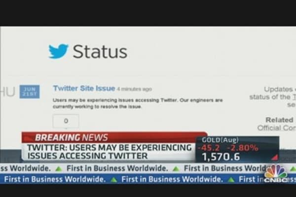 Twitter Announces Issues With Service