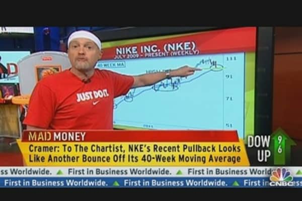 Cramer on Nike: Just Do It!
