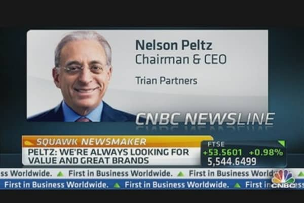 Peltz Takes a Stake in Lazard