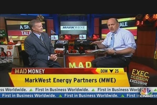 MarkWest Has Been Dragged Down With Oil