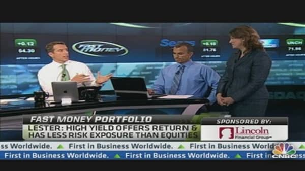Fast Money Portfolio: Buying High Yield