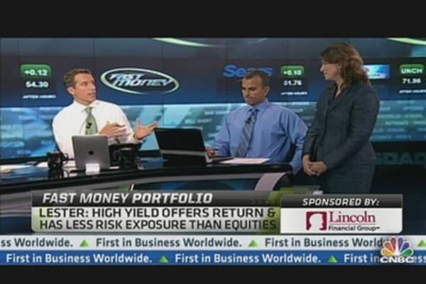 Fast Money Portfolio: Buying High Yield