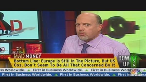 Cramer: Immunize Your Portfolio from European Contagion