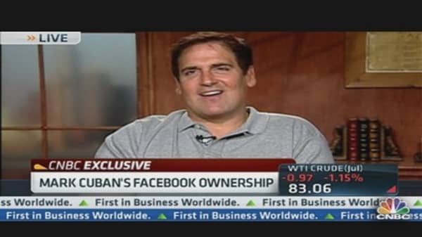 Cuban on Facebook Ownership: 'I Took a Beating and Left'