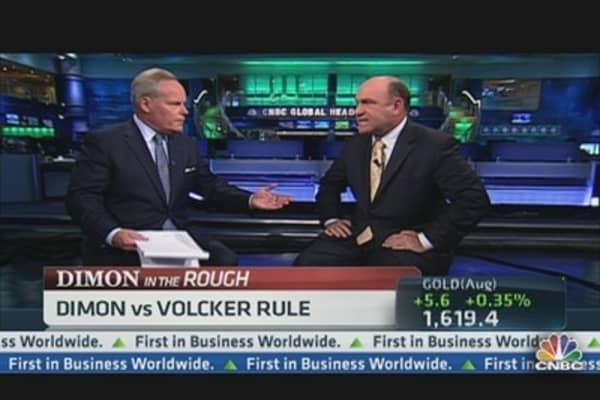 Jamie Dimon vs. Volcker Rule