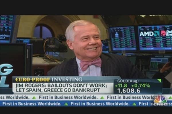 Jim Rogers: Let Spain, Greece Go Bankrupt