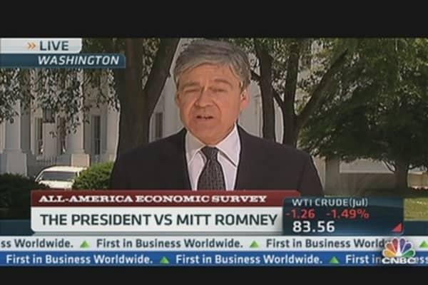President Obama vs. Mitt Romney