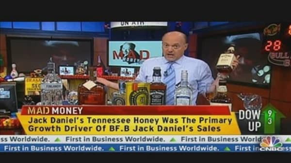 Cramer Explains Brown Forman's Quarter