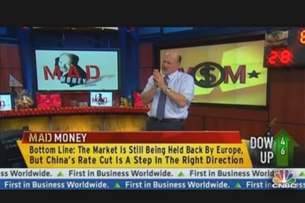 Cramer: Fed's Impact Has Nothing on Spain & China