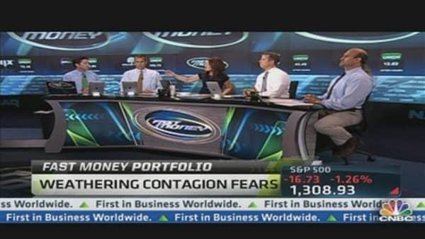 Fast Money Portfolio: Weathering Contagion Fears