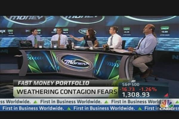 Fast Money Portfolio: Weathering Contagion Fears