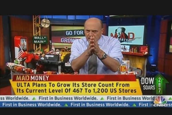 Cramer: Beware of Chasing Too Much Momentum