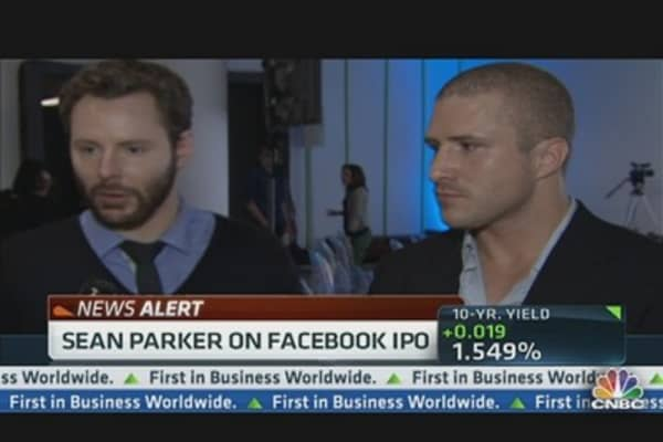 Napster Co-Founder Parker: Facebook a 'Basic Utility'