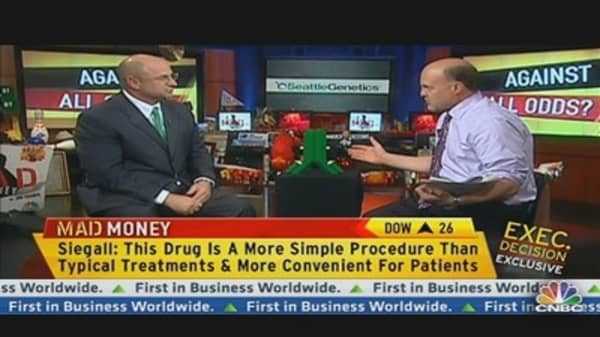 Seattle Genetics CEO on ADCETRIS Drug For Hodgkins