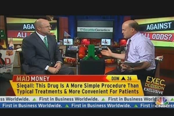 Seattle Genetics CEO on ADCETRIS Drug For Hodgkins