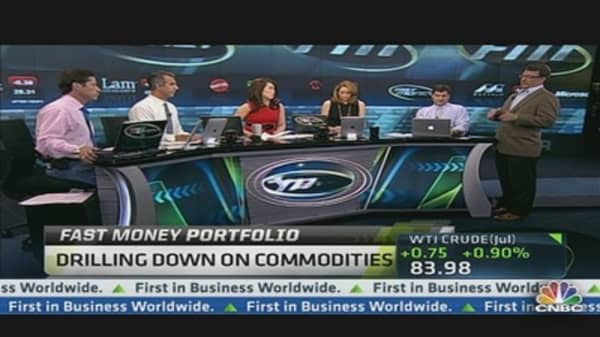 Fast Money Portfolio: Drilling Down on Commodities