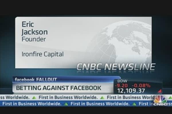 Betting Against Facebook