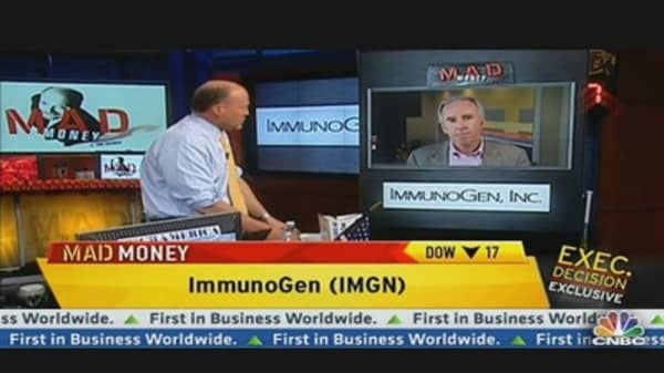 ImmunoGen CEO on Competitive Cancer Drug Landscape