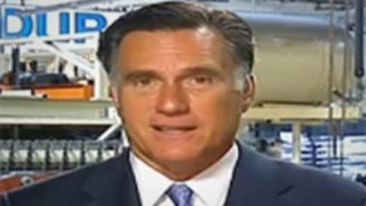 Larry Kudlow interviews Mitt Romney