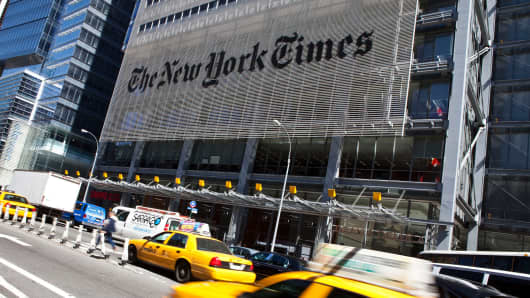 Legal & General Group Plc Increases Stake in New York Times Company