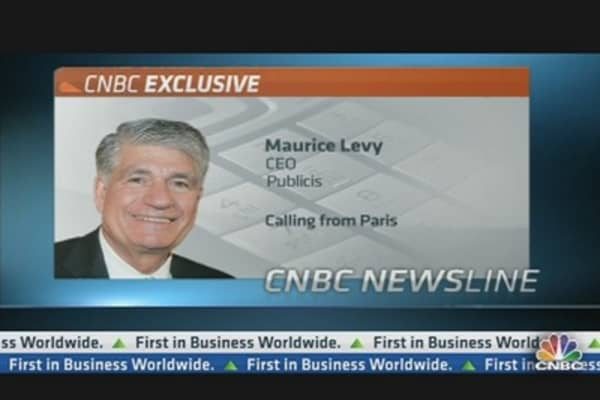 Publicis CEO: Not Going to Make Counter-Bid for Aegis