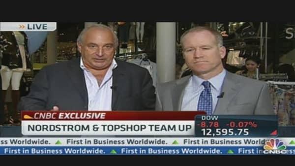Nordstrom & Topshop Team Up